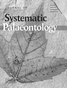 Cover of the Journal of Systematic Palaeontology